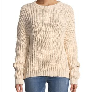 Zimmermann Black Sunny Braid Cable Knit Sweater